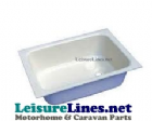 BASIN 390mm x 280mm  WHITE HIPS